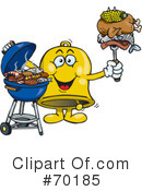 Barbecue Clipart #70185 by Dennis Holmes Designs