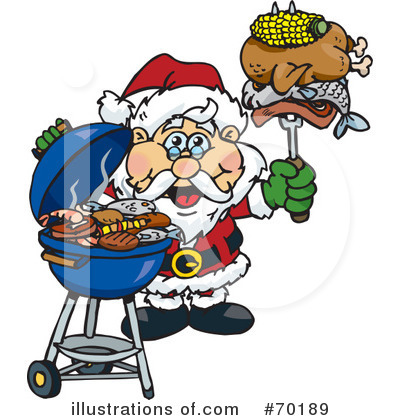 Barbecue Clipart #70189 by Dennis Holmes Designs
