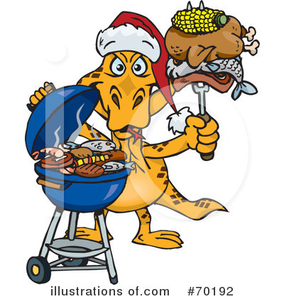 Royalty-Free (RF) Barbecue Clipart Illustration by Dennis Holmes Designs - Stock Sample #70192