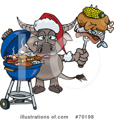 Water Buffalo Clipart #70198 by Dennis Holmes Designs