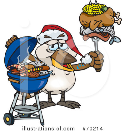 Royalty-Free (RF) Barbecue Clipart Illustration by Dennis Holmes Designs - Stock Sample #70214