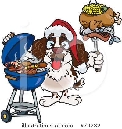 Royalty-Free (RF) Barbecue Clipart Illustration by Dennis Holmes Designs - Stock Sample #70232