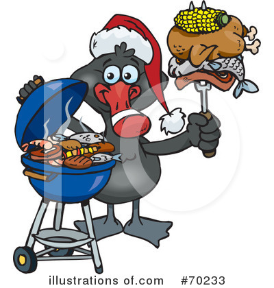 Royalty-Free (RF) Barbecue Clipart Illustration by Dennis Holmes Designs - Stock Sample #70233