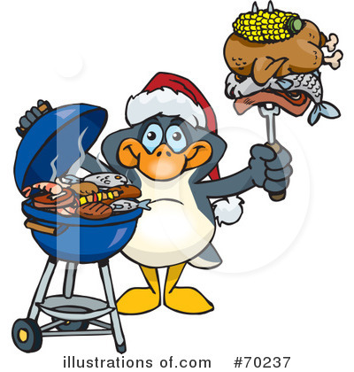 Royalty-Free (RF) Barbecue Clipart Illustration by Dennis Holmes Designs - Stock Sample #70237