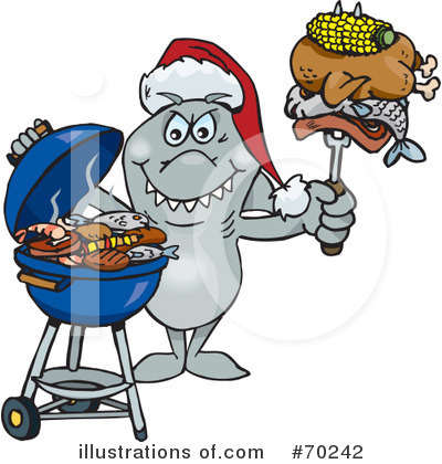 Royalty-Free (RF) Barbecue Clipart Illustration by Dennis Holmes Designs - Stock Sample #70242