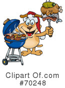 Royalty-Free (RF) Barbecue Clipart Illustration #70248