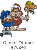Royalty-Free (RF) Barbecue Clipart Illustration #70249