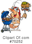 Royalty-Free (RF) Barbecue Clipart Illustration #70252