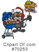 Royalty-Free (RF) Barbecue Clipart Illustration #70253