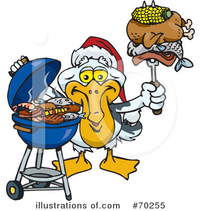 Royalty-Free (RF) Barbecue Clipart Illustration by Dennis Holmes Designs - Stock Sample #70255