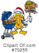 Royalty-Free (RF) Barbecue Clipart Illustration #70255