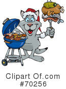 Royalty-Free (RF) Barbecue Clipart Illustration #70256