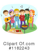 Barbeque Clipart #1182243 by BNP Design Studio