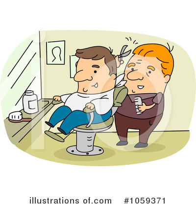 Barber Shop Clipart #1059371 by BNP Design Studio