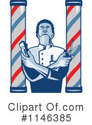 Barber Clipart #1146385 by patrimonio