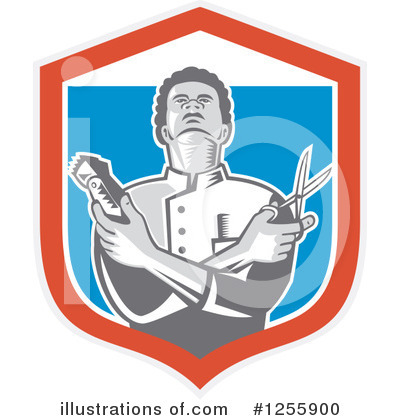 Barber Clipart #1255900 by patrimonio