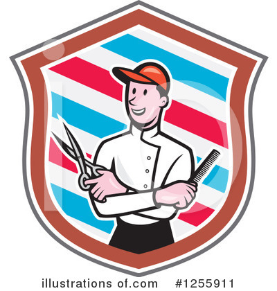 Barber Clipart #1255911 by patrimonio