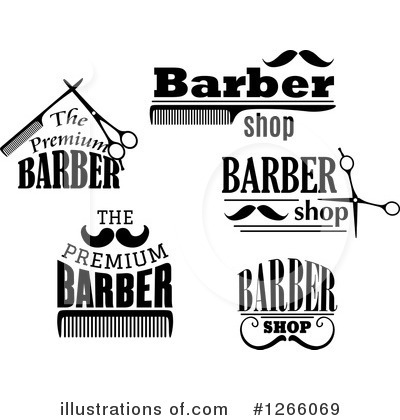 Barber Clipart #1266069 by Vector Tradition SM