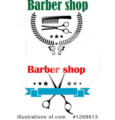 Barber Clipart #1268613 by Vector Tradition SM
