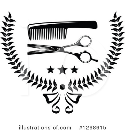 Barber Clipart #1268615 by Vector Tradition SM