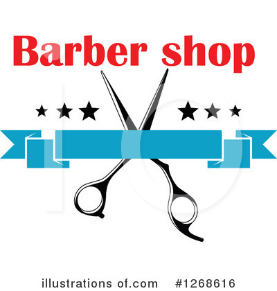 Barber Clipart #1268616 by Vector Tradition SM
