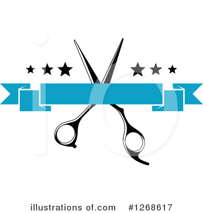 Barber Clipart #1268617 by Vector Tradition SM