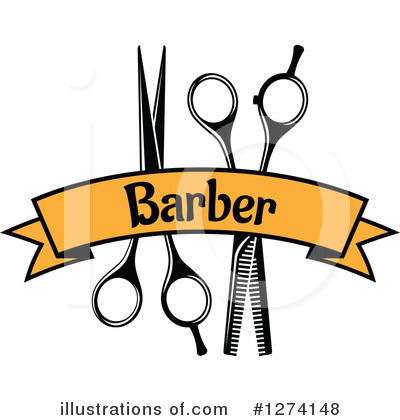 Barber Clipart #1274148 by Vector Tradition SM