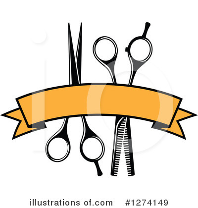 Barber Clipart #1274149 by Vector Tradition SM