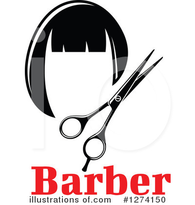 Barber Clipart #1274150 by Vector Tradition SM