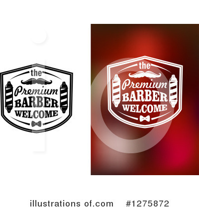Barber Pole Clipart #1275872 by Vector Tradition SM