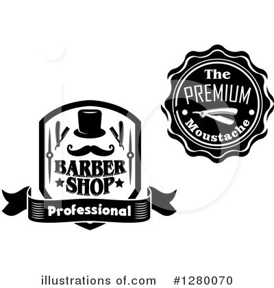 Barber Clipart #1280070 by Vector Tradition SM