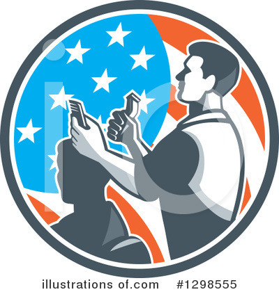 Barber Clipart #1298555 by patrimonio