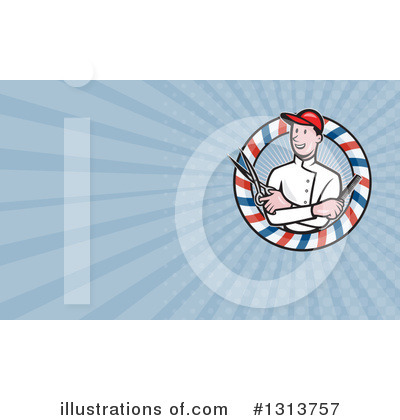 Barber Clipart #1313757 by patrimonio