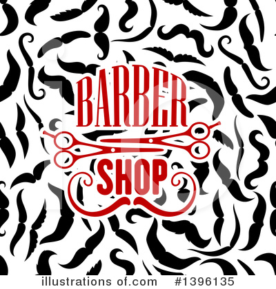 Barber Clipart #1396135 by Vector Tradition SM