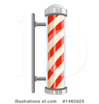 Barber Pole Clipart #1465920 by Graphics RF