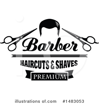 Barber Clipart #1483053 by Vector Tradition SM
