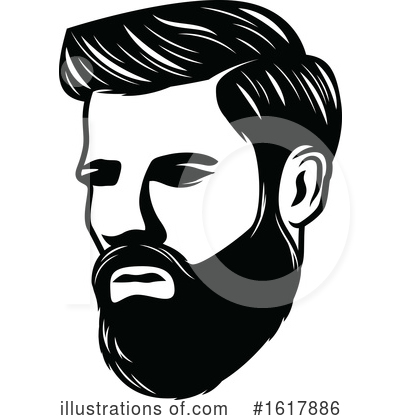 Barber Clipart #1617886 by Vector Tradition SM