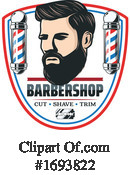 Barber Clipart #1693822 by Vector Tradition SM
