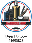 Barber Clipart #1693823 by Vector Tradition SM