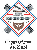 Barber Clipart #1693824 by Vector Tradition SM