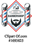 Barber Clipart #1693825 by Vector Tradition SM