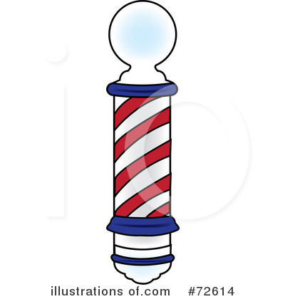 Barber Pole Clipart #72614 by Pams Clipart