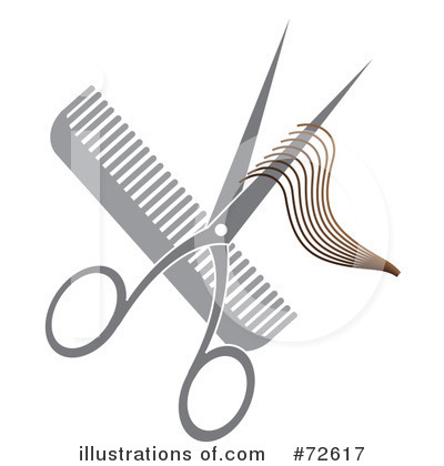 Royalty-Free (RF) Barber Clipart Illustration by Pams Clipart - Stock Sample #72617