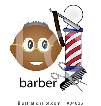 Barber Clipart #84835 by Pams Clipart