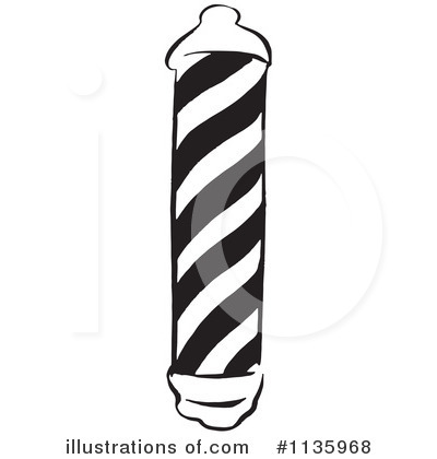 Barber Pole Clipart #1135968 by Picsburg