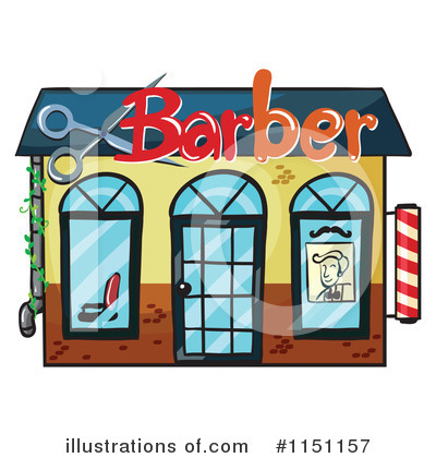 Barber Clipart #1151157 by Graphics RF