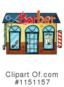 Barber Shop Clipart #1151157 by Graphics RF