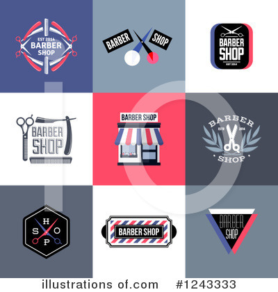 Barbershop Clipart #1243333 by elena