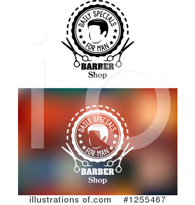 Barbershop Clipart #1255467 by Vector Tradition SM
