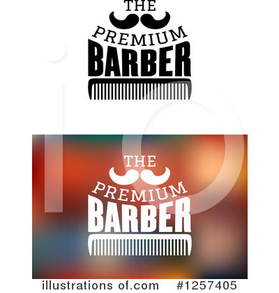 Barber Clipart #1257405 by Vector Tradition SM